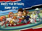Paw Patrol edible icing cake toppers. View 2 images Select + personalise!