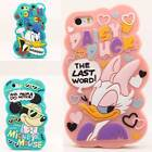 3D Disney Cartoon Soft Silicone Plastic Back Case Cover For iPhone 4S / 5S / SE