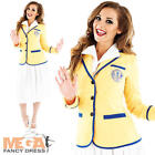 Holiday Camp Hostess Ladies Fancy Dress Hi De Hi 50s Womens Adult Costume Outfit