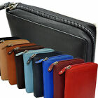 Wallet With All Round Zipper Secret Compartment Wallet Purse