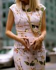 ZARA BLOGGERS FLORAL PRINT DRESS SIZE M,L