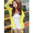 7 Colors Women Girl Summer Ultrathin Shirt Long Sleeve Sun Protection Cardigan