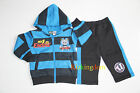BNWT Thomas Boys 2 Pcs Winter Fleecy Hooded Track Suit Outfit Size 1,2,3,4,5