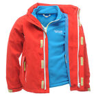 Regatta Woolf 3-in-1 Kids Jacket Coat Boys Girls Waterproof Fleece Inner RKP048