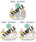 Baby Shower Scratch Offs *Baby Jackpot*. 12 Tickets per Order. GREAT FUN