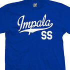 Impala SS Script Tail Shirt - Muscle Lowrider Classic Car - All Sizes