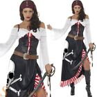 Ladies Sultry Swashbuckler Pirate Costume Fancy Dress Womens Caribbean Outfit