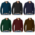 Mens Clothing Long Sleeve Plain Polo Shirt | S M L XL...
