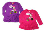 Minnie Mouse Tunika Langarmshirt T-Shirt Gr. 92 98 104 110 116 122 128 134 Neu