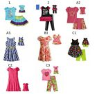 """Dollie Me Sz 5-14 and 18"""" doll matching  dress outfit clothes fit american girl"""