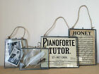 "Antique Silver Metal & Glass Hanging Photo Frame Vintage Style 6x4"" 7x5"" & 10x8"""