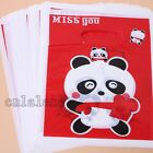 Wholesale Kinds Pattern Prints Plastic Bags Fit Gift Package Lots Varieties - C
