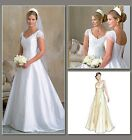 Vogue 2788 Womens Wedding Gown Train Full Skirt Dress Sewing Pattern V2788