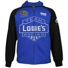 NASCAR JIMMIE JOHNSON 48 LOWES FLEECE - HOODIE SMALL - 3XL BRAND NEW DESIGN