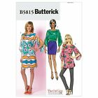 Butterick 5815 Tunic Top AND Shift Dress Shaped Sleeves Sewing Pattern B5815