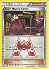 Pokemon Trainer Card: Xy Double Crisis - Team Magma Admin 29/34