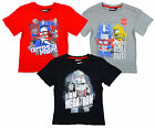 Boy's Transformers Megatron Optimus Bumblebee T-Shirt Top Tee 4 to 10 Years NEW