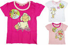 Baby Girls Nici Jolly Sheep Cotton T-Shirt Top Cerise Pink White 3-24 Months NEW