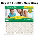 12 PACK - Many Sizes - Flanders Natural Air Standard Pleated Air Filters MERV 8 фото