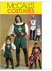 McCalls 5500 Mens Boys Knight Prince Samurai Sewing Pattern M5500 St George