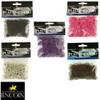 LINCOLN PLAITING BANDS White/Brown/Black/Pink/Purple horse mane tail *FREE P&P*