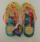 Girl's Disney frozen Elsa & Anna flip flops pink  yellow various sizes brand new