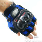 Men's Pro-biker Racing Cycling Fingerless Road Bicycle Sports Motorcycle Gloves