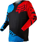 Fox Racing Mens Blue Red Black 180 Race Dirt Bike Jersey MX ATV 2015