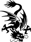 Dragon Chinese A51 Vinyl Decal ANY SIZE Sticker Car Window Wall