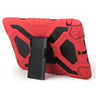 Pepkoo Spider Armor Heavy Duty Stand Silicone Cover Case For ipad Air1/2,iPad5/6