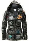 100% Soft Cotton Pointy Hooded Gothic Style Emo Punk Black Ribs Hoodie Jacket