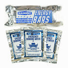 Survival Aid Food-Water Rations Day Packs 1200 Calorie Per-Day w/3x4.2oz Pouches