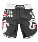 Gracie Sports Grunge MMA Shorts - Grey - [MMA UFC BJJ Fight Shorts]