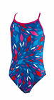 Zoggs Diamond Diva Sprintback Girls Swimsuit Swimming Costume 5057150