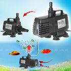 4 in 1 Aquarium Pond Water Filter Pump Recycle Oxygenator 1200L/H 2400L/H A45