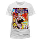 TRANSFORMERS GRIMLOCK OFFICIAL cotton T-SHIRT WHITE DINOBOTS Autobot Decepticon