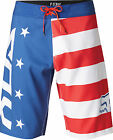 Fox Racing Mens Royal Blue Red, White And True Boardshorts Swim Suit