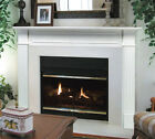 "Pearl Mantel classic 48"" Berkley white traditional firepl..."