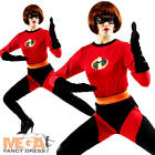 Mrs Incredible Ladies Fancy Dress Disney Superhero The Incredibles Adult Costume
