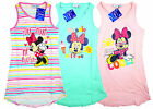 Girls Disney Minnie Mouse Sleeveless Summer Sun Dress 2-8 yrs NEW