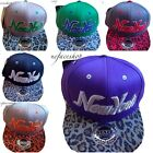 NY snapback caps, dope bling flat peak baseball fitted hats, hiphop kids & adult