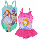 Girl's Princess SOFIA the First Swimming Costume Bathing Suit 2 to 8 Years NEW
