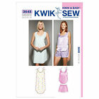 Kwik Sew 3645 Summer Pyjamas Nightie Sewing Pattern K3645 PJs Pajamas Shorts