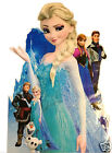 Elsa Anna Frozen Wall Sticker Art Kids Childrens room Extra Large Kids room