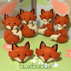 FUNKY FOX FACE EARRINGS KITSCH CUTE KAWAII RETRO WILD ANIMAL FUN COOL FOXY LADY