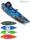 Sit On Top Kayak Single Fishing Ocean Canoe - GoSea Angler Stealth