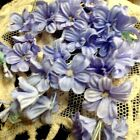 Vintage Mini Lilacs Cotton flowers 1pc Made in Japan