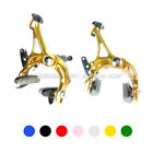 (NOT Included Pads) 225G New Road BIKE Brake Set Front & Rear Calipers 7 Colours