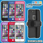 Genuine Lifeproof Fre Frē waterproof case + Belt Clip mount iPhone 6