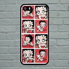 "BETTY BOOP 2 HARD PLASTIC PHONE CASE IPHONE 4-4S / 5-5S / 5C / 6 4.7"" £7.99 GBP on eBay"